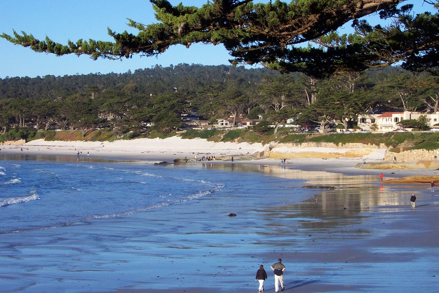 Carmel, CA : Carmel Beach