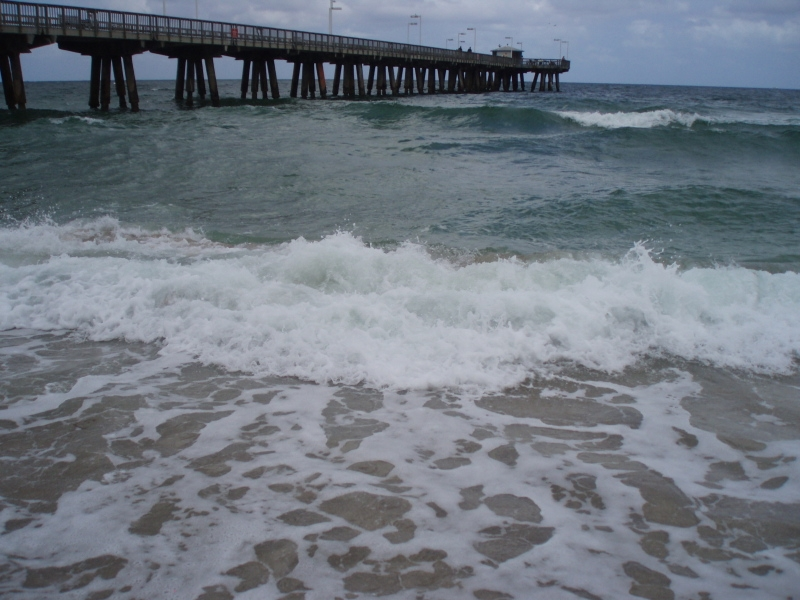Pompano Beach, FL : Pompano Beach and Pier
