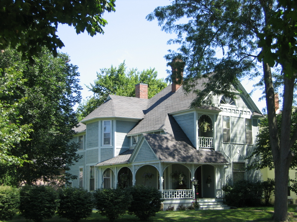 Fort Madison, IA : Victorian house, Fort Madison, Iowa