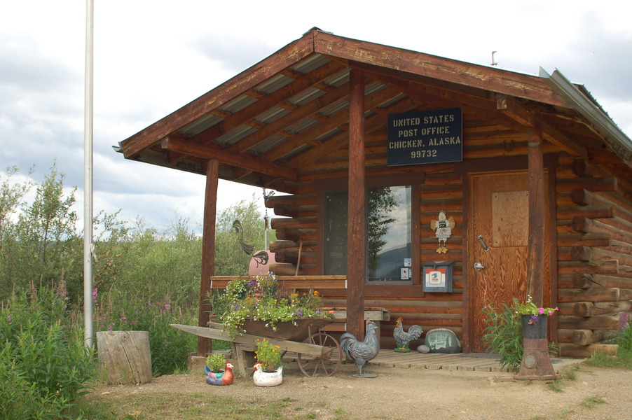 Chicken, AK: Post Office