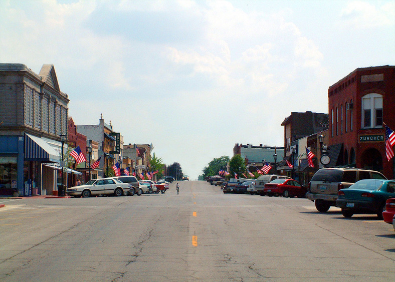 Marceline, MO: Main Street USA; Marceline, MO Walt Disney's Boyhood Hometown