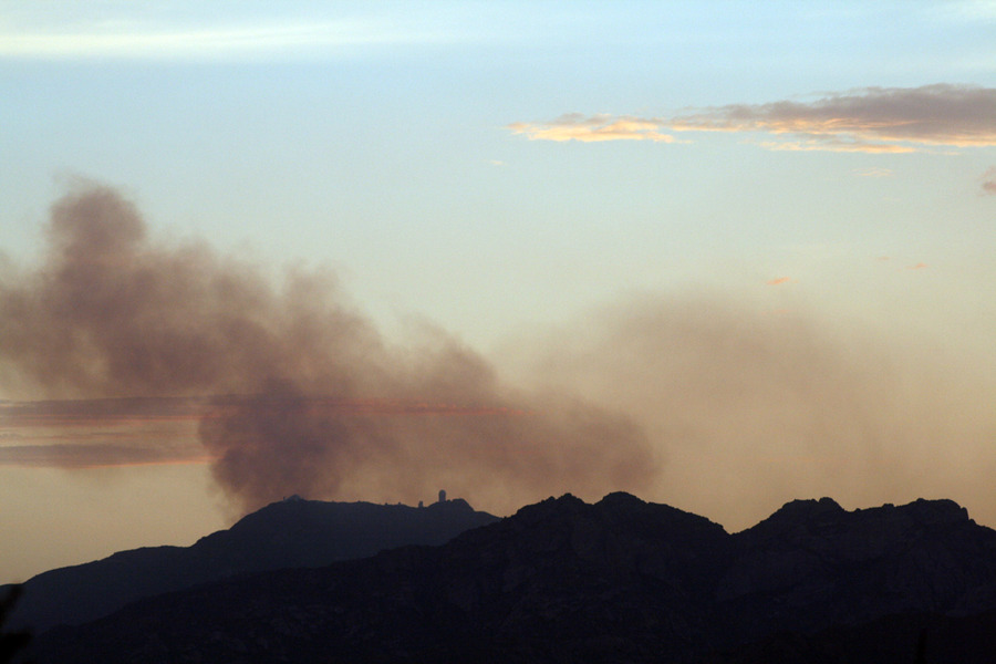 Three Points, AZ : San Juan Fire - Kitt Peak