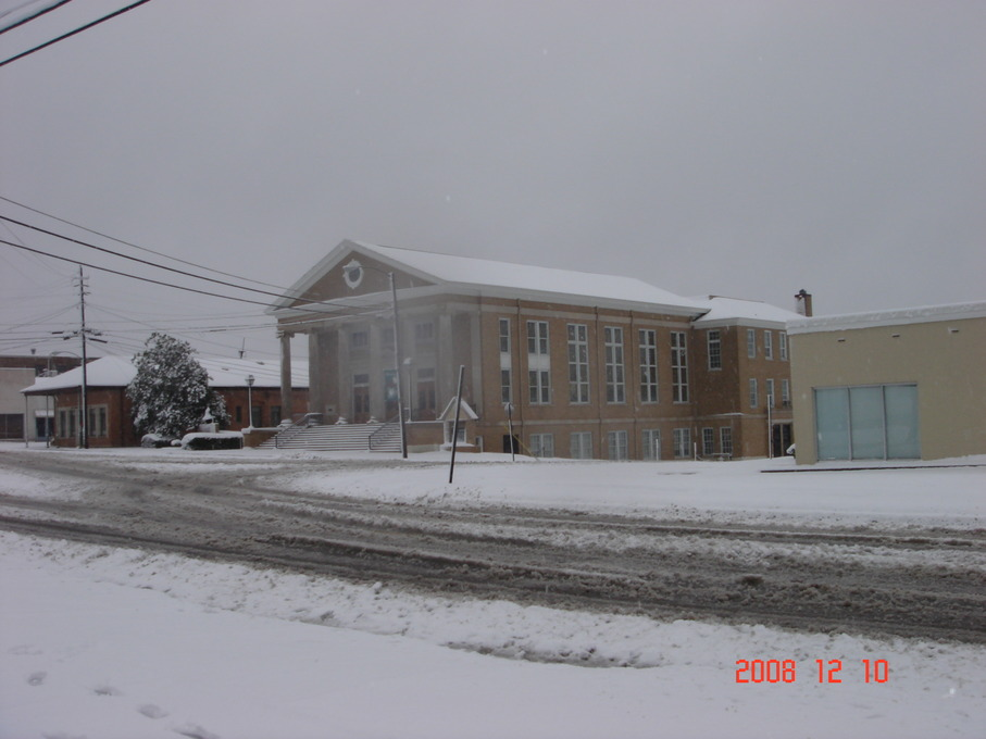 Hazlehurst, MS : snowing hazlehurst