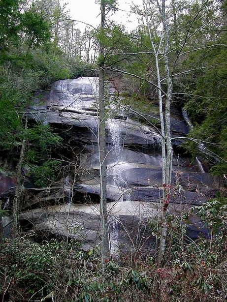 Brevard, NC : Jackson Falls at Brevard, NC