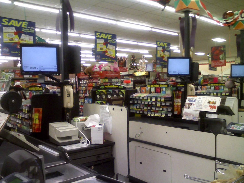 Oak Hill, WV : Inside Krogers in Oak Hill