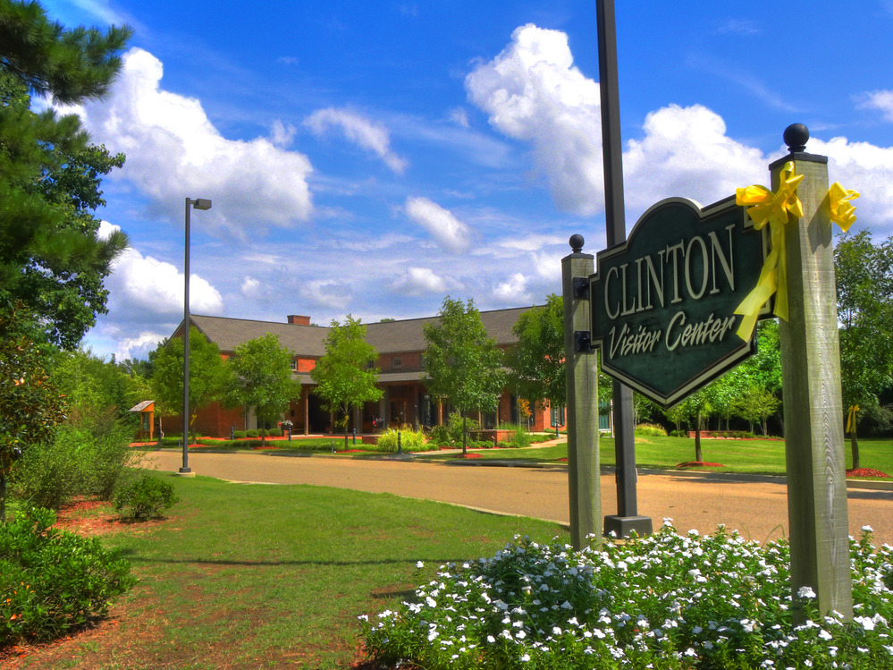 Clinton, MS : Visitor Center at Natches Trace Parkway