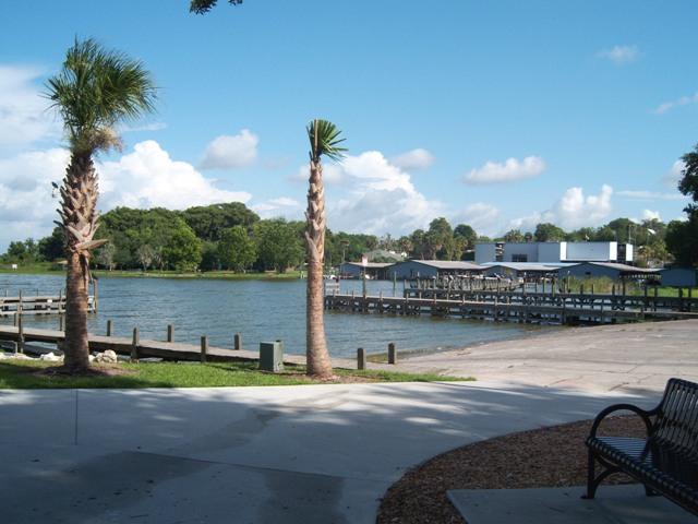 Mount Dora, FL : Mount Dora Marina and Boat Ramp