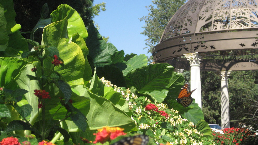 Lincoln, NE : Gazebo at The Sunken Gardens