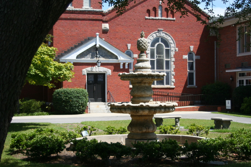 Hartsville, SC : First Presbyterian Church Fountain