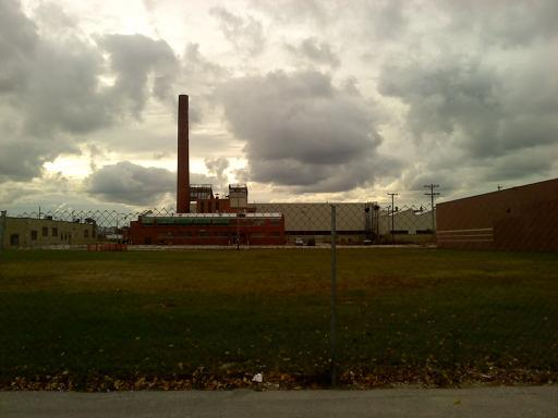 West Milwaukee, WI : Taken from S side of Target Park Lot facing west. (Former Chain Belt Factory?)