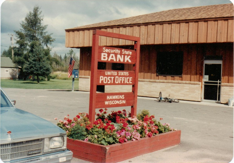Hawkins, WI : POST OFFICE