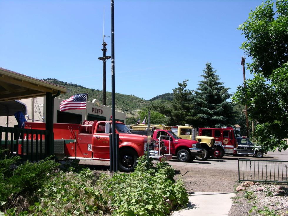 Palmer Lake, CO: Palmer Lake Volunteer Fire Department, July 4, 2008