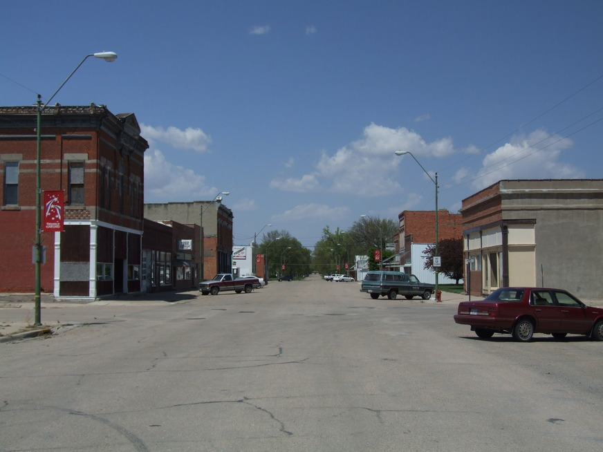 Harvard, NE : Main Street Harvard (Rush Hour)