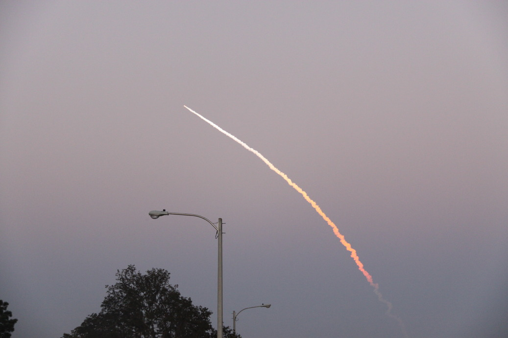 Spring Hill, FL: Space Shuttle - March 2009 - Spring Hill, FL