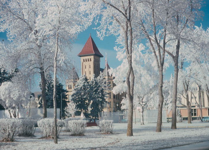 Fergus Falls, MN : Kirkbride in Winter