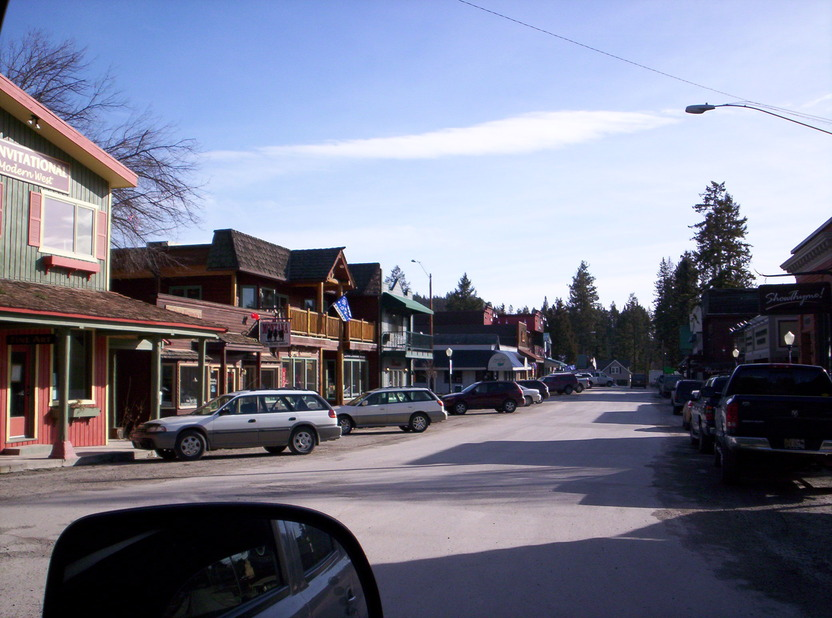 Bigfork, MT: Downtown Bigfork, 2010