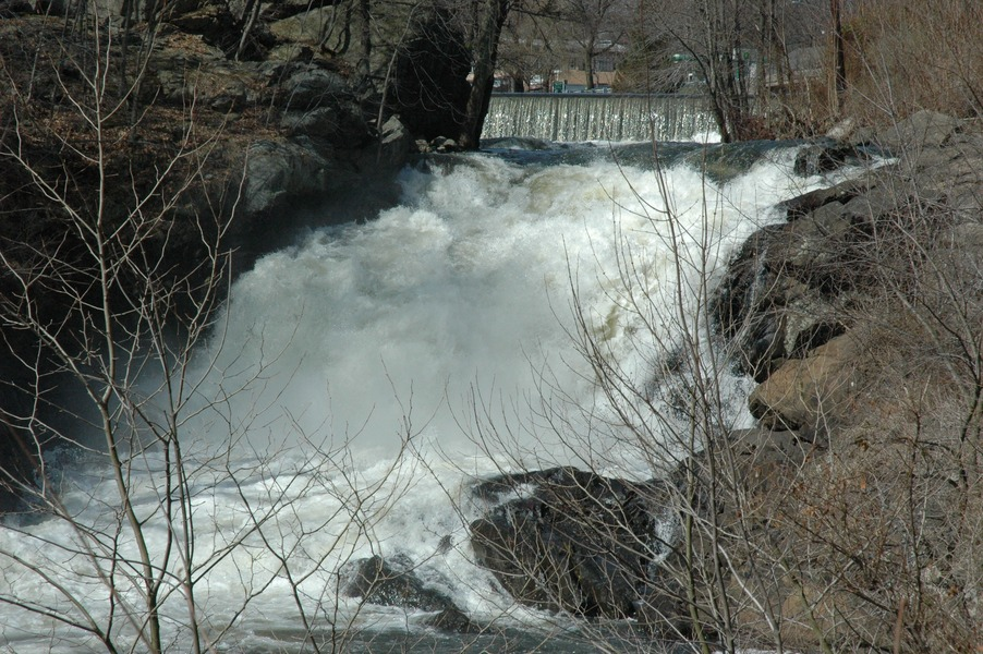 Boonton, NJ : Rapids after the Falls