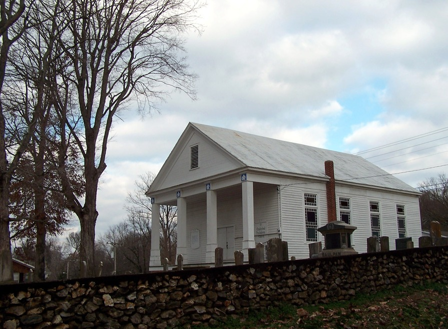 Charleston, TN: Old Cumberland Presbyterian Church