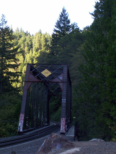 Dunsmuir, CA : Dunsmuir: Railroad Bridge at Mossbrae