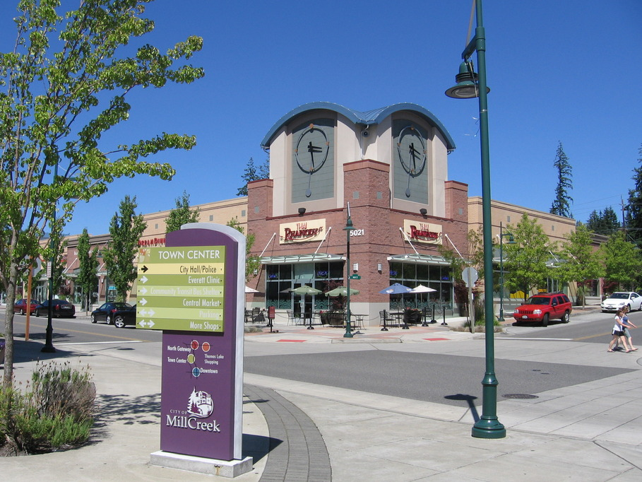 Mill Creek, WA: Street View - Mill Creek Town Center