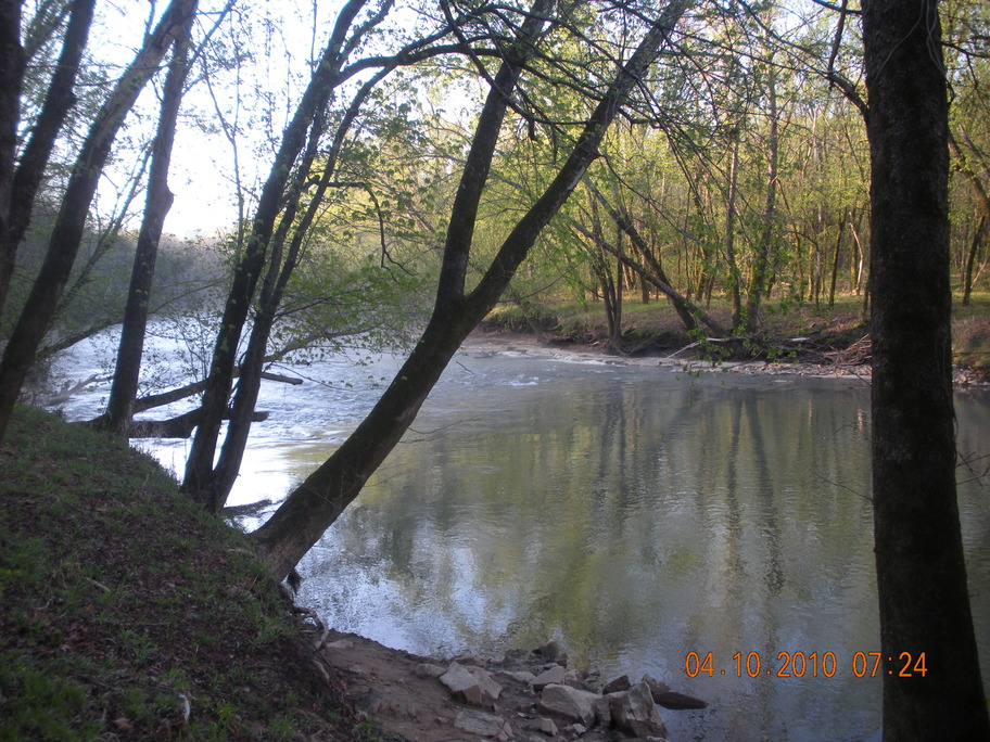 Munfordville, KY : Nolin River along Broad Ford Road/SR1214