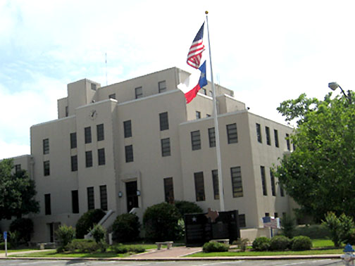 Mount Pleasant, TX : Titus County Courthouse