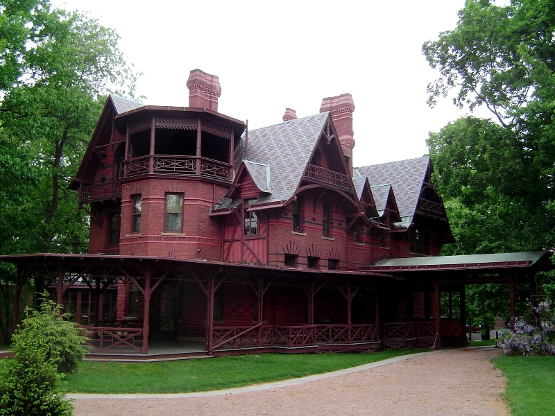Hartford, CT : Mark Twain's house