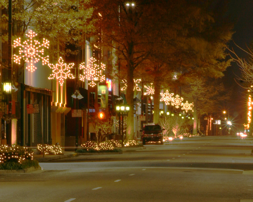 Paducah, KY : Christmas Eve On Broadway, Paducah, KY