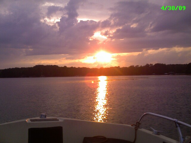 Mooresville, NC : Sunset at Lake Norman