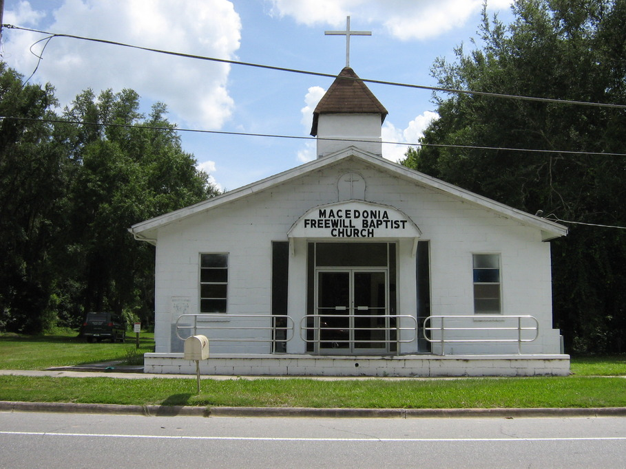 Lawtey, FL : Church I grew up in