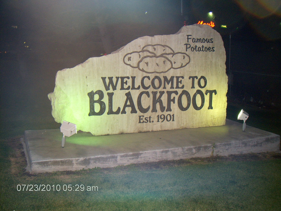 Blackfoot, ID : Welcom to Blackfoot
