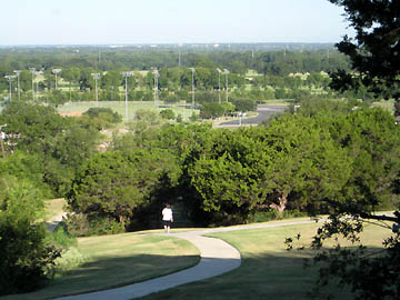 Temple, TX : Walking Trail at Temple Lions Park