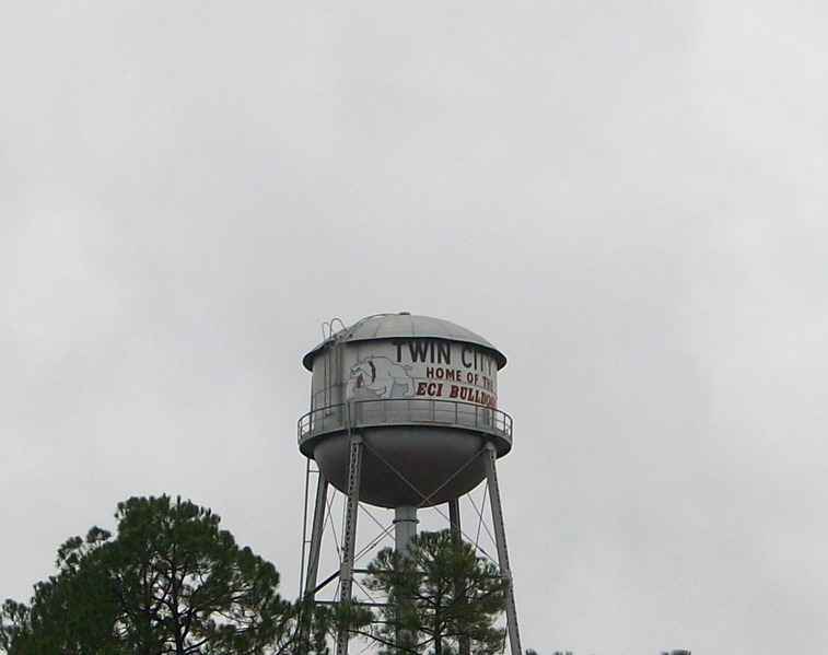 Twin City, GA: ECI Bulldogs / Water Tower