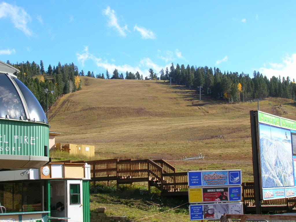 Angel Fire, NM: Main Ski Slope