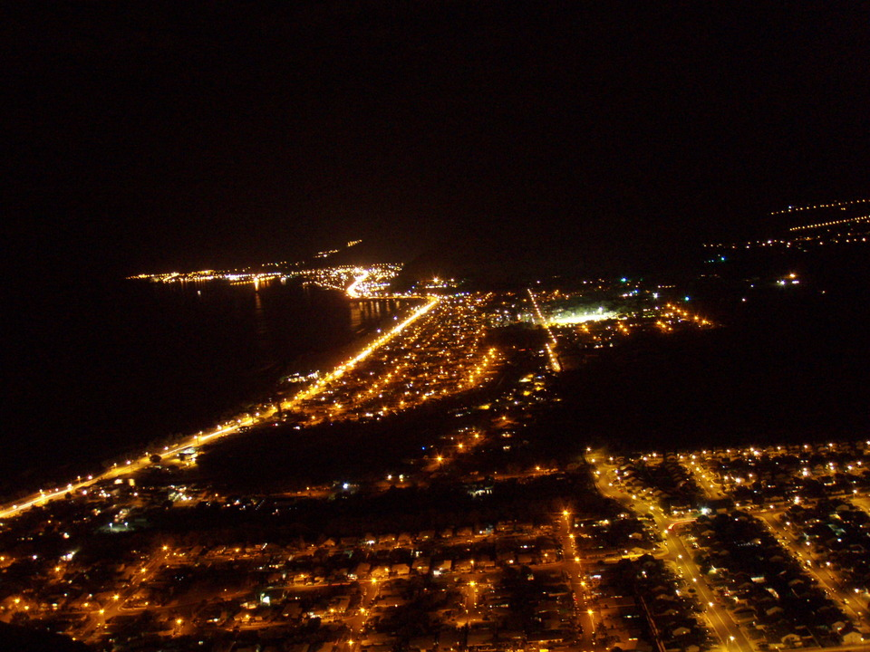 Waianae, HI : Night View of Waianae