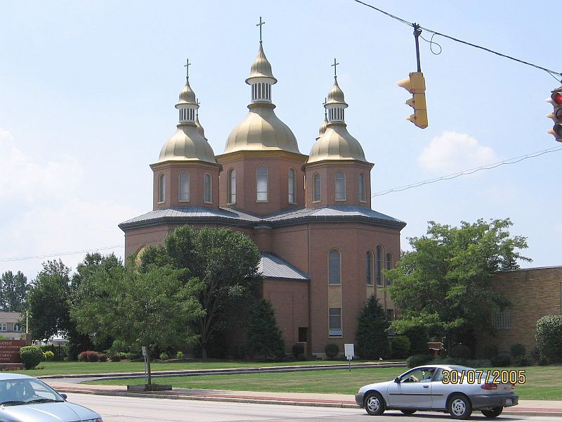 Parma, OH: Ukranian Cathedral in Parma, Ohio