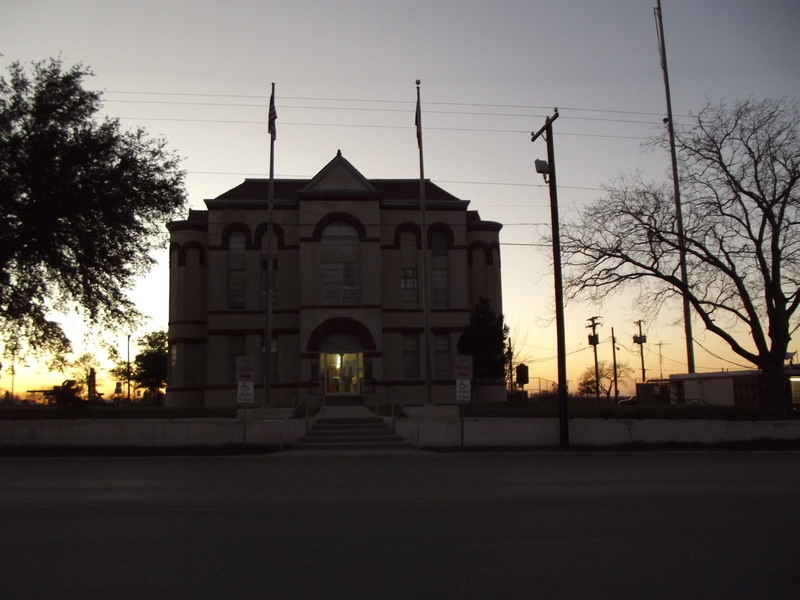 Karnes City, TX: Karnes City Courthouse