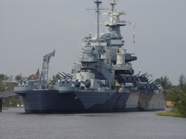 Wilmington, NC : The Uss North Carolina At Riverfest 10-1-05