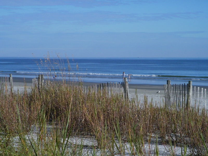 North Myrtle Beach, SC : Beach in November