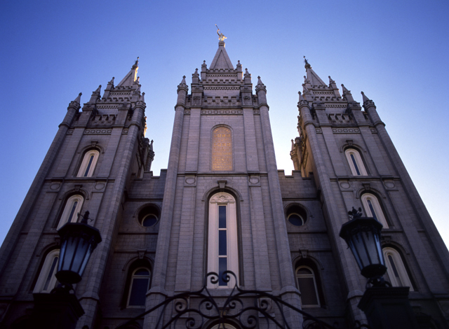 Salt Lake City, UT: The Salt Lake Temple of The Church of Jesus Christ of Latter-day Saints, SLC, UT.