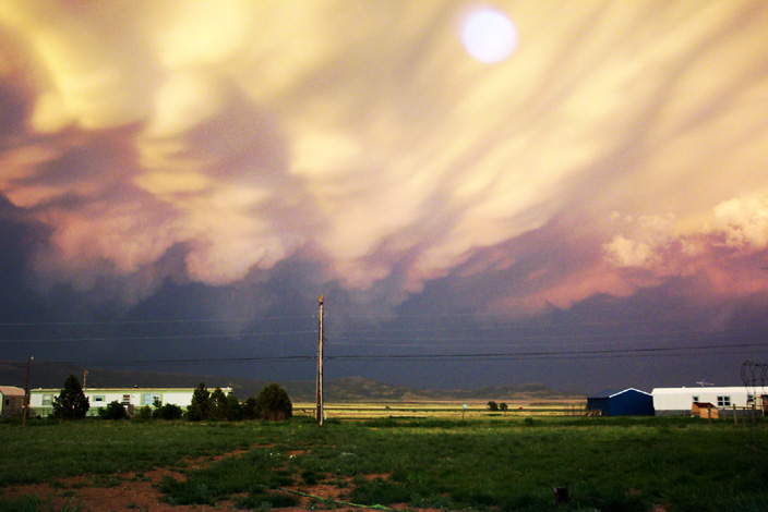 Colorado City, CO : Storm on outskirts of Raton, New Mexico.