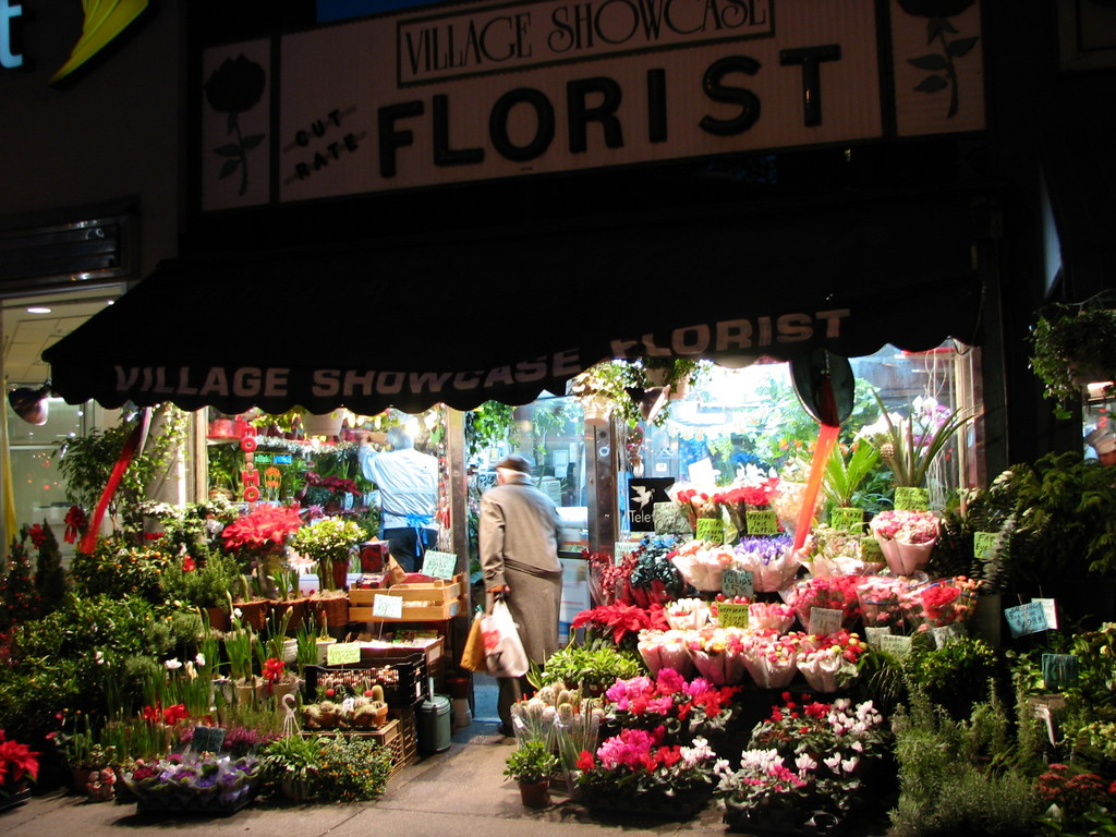 New York NY flower shop photo picture image New York at city data