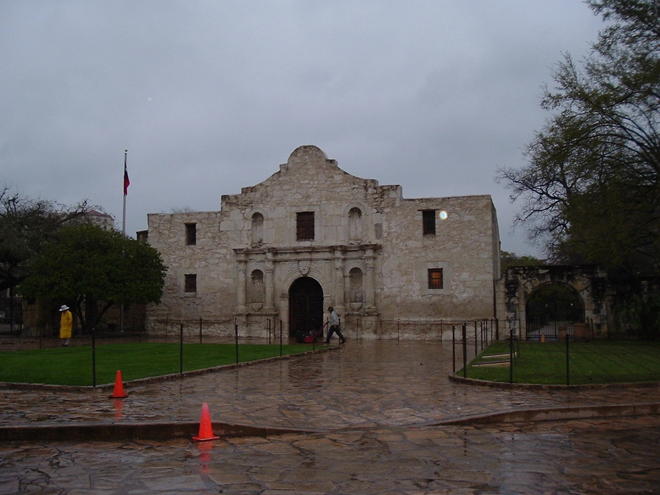 San Antonio Tx The Alamo March 2005 Photo Picture