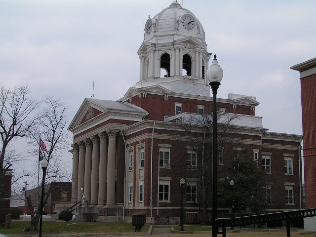 Greenville, KY: Muhlenberg County Courthouse