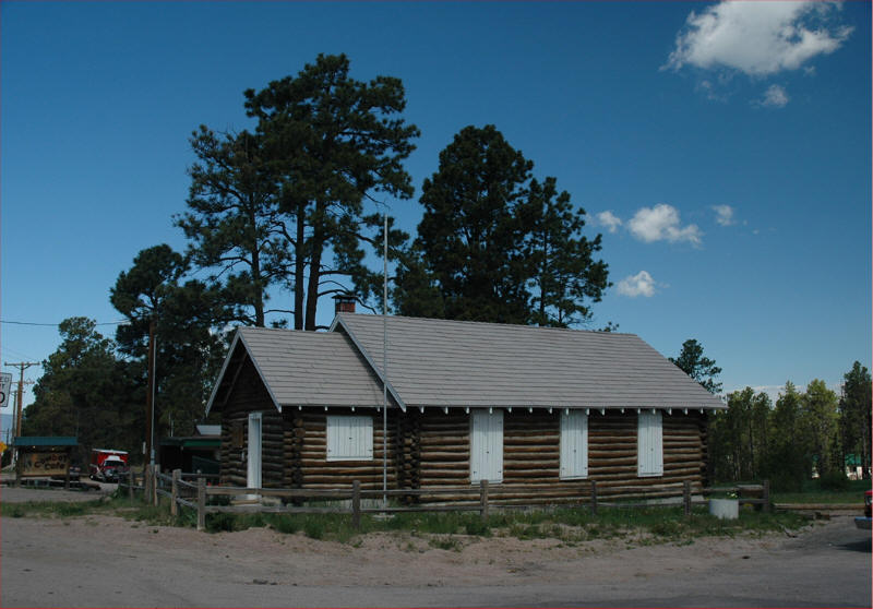 Black Forest, CO: Log House