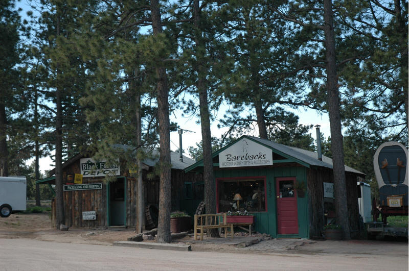Black Forest, CO : Downtown Block