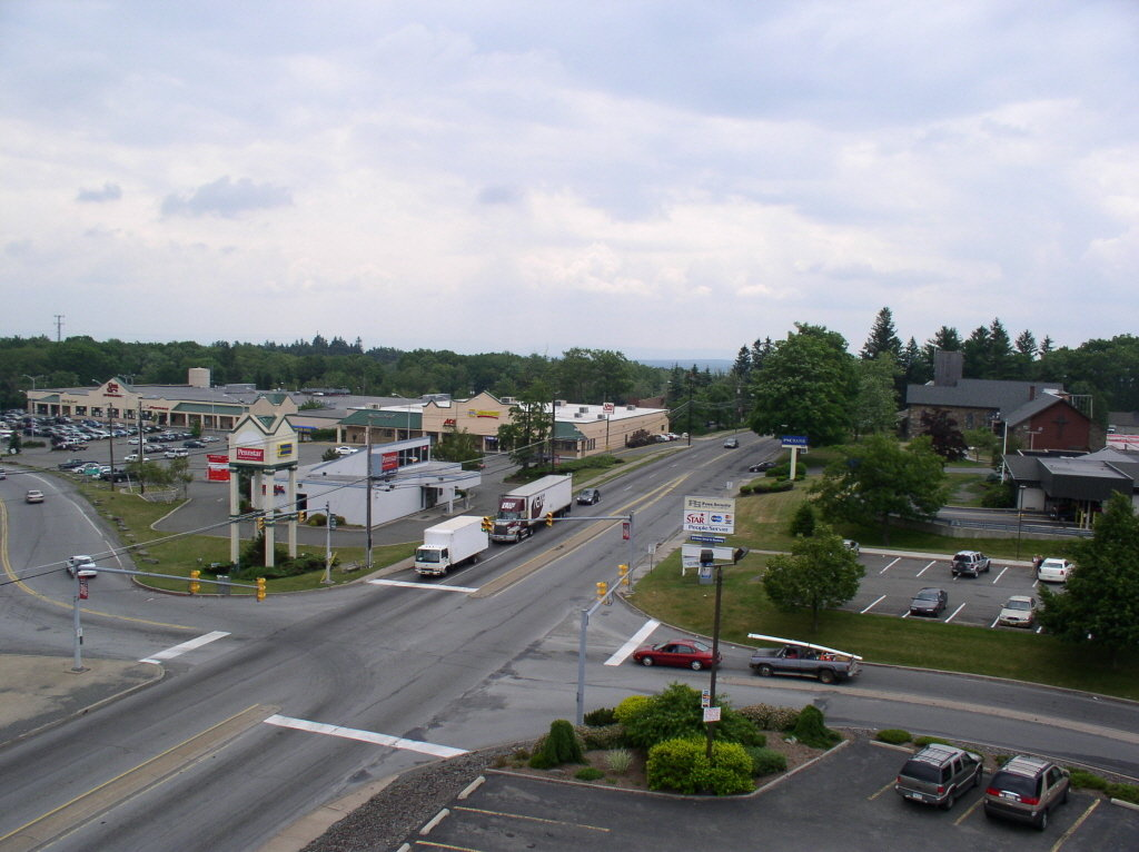 Outlets In Nj >> Mount Pocono, PA : Five Points Landmark, looking in the South West Direction photo, picture ...