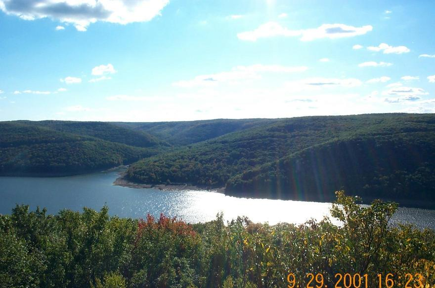 Warren, PA : View from Rimrock Overlook