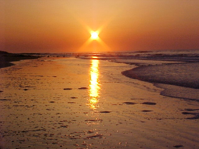 Folly Beach, SC : Folly Sunrise