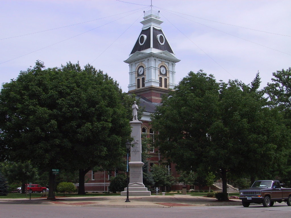Clarinda, IA : Paige County Court House, Clarinda, IA